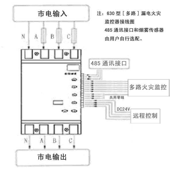 250型接线图