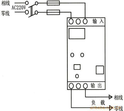 复式整流接线图