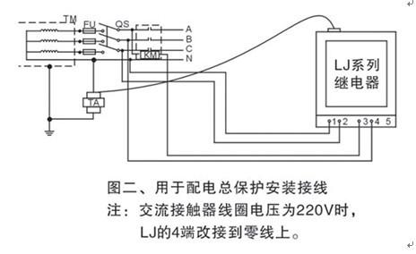 漏电脉冲继电器ljm-ii630a¢90